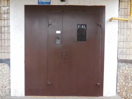подъездные железные двери с домофоном цена воскресенск
